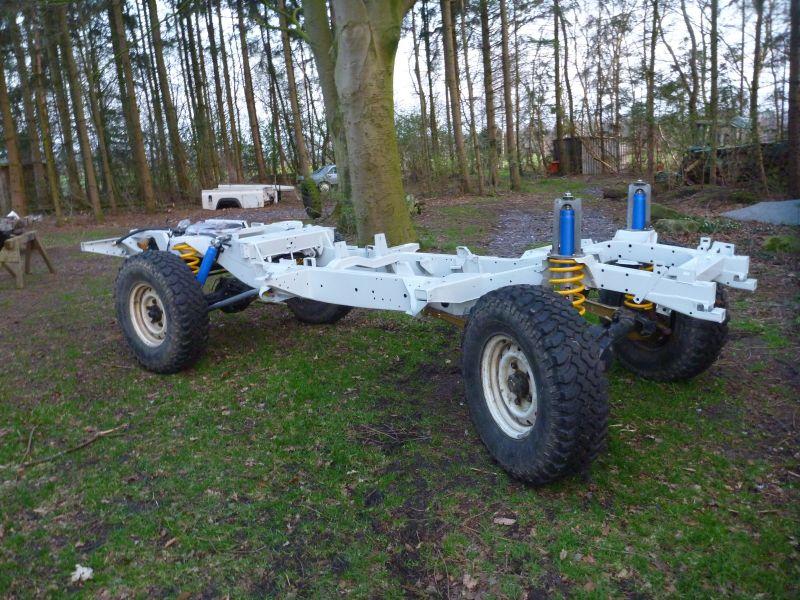 Rahmen tauschen 300 TDI - Viermalvier.de, das Geländewagenportal